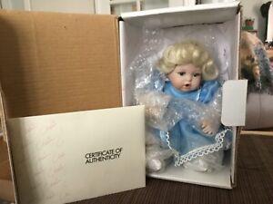 MARIE OSMOND DOLL - Baby Miracles 1998 Tiny Tot - MINT NIB BOX COA