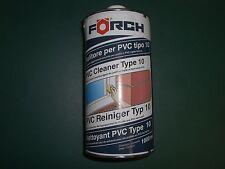 PVC Reiniger Förch – 1 L - Typ S10 schwach anlösend