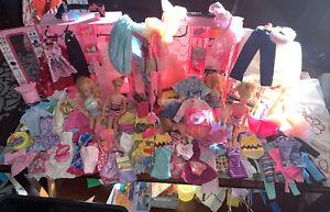 Huge VTG Lot Barbie/Mattel 1961-1998 w/ Barbie Case/clothing and MORE!!