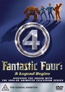 Fantastic Four A Legend Begins (DVD Region 4) NEW+SEALED
