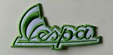 VESPA SCOOTER MOD-  LIGHT GREEN- SIGNATURE -Sew on Iron on Embroidered- Patch