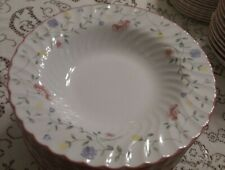 johnson brothers Summer Chintz set/ 7 Rim Soup Bowls, special occas use only  F0