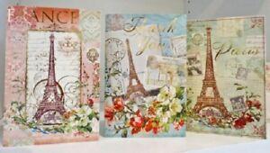 NWT Punch Studio 97648 Pack 12 Paris Gold Foil Note Cards & Envelopes 3 Designs