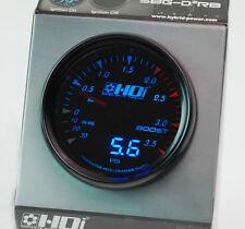 HDI HYBRID HDI SUPER BOOST GAUGE TYPE-DR SKYLINE WRX SILVIA GTR EVO MR2 SUPRA