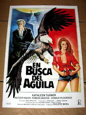 A BREED APART Original BALD EAGLE BIRD Movie Poster RUTGER HAUER KATHLEEN TURNER