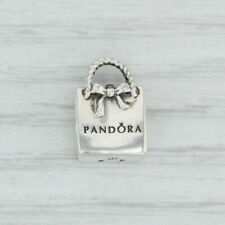 Genuine Sterling Silver PANDORA SHOPAHOLIC SHOPPING BAG Charm S925 ALE 791184