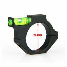 """Fusil//airgun scope spirit niveau bulle pour 30mm ou 25mm//1/"""" fixations boulon sur"""