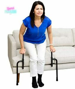 Chair Assist Grab Bars with Ergonomic Stand Assist Handles Standing Mobility Aid