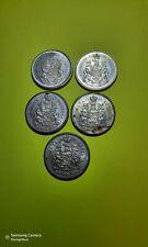 1966 1965 1964 1963 1962 CANADA SILVER 50 CENTS COIN 80% silver