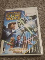 Star Wars The Clone Wars - Light saber Duels Nintendo Wii 2008 RESURFACED