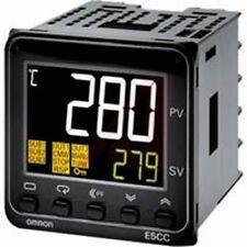 new omron digital temperature controller E5CC-QX3A5M-000 multi range 100-240 VAC