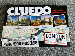 Cluedo The Classic Mystery Game London Edition 2012 Hasbro Family Board Game