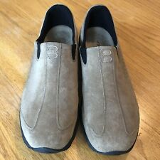 Hush Puppies Brown Suede Leather Slip On Men's Size 12M