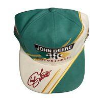 New JOHN DEERE Motorsports NOS Chad Little Racing Hat #97 Roush Nascar Strapback