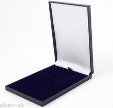 Blue Slim 150 x 105 x 17mm in similpelle Collana Regalo Gioielli Scatola Di Presentazione
