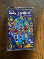 The Best Latino Carnival In the World Ever Cassette Tape X 2