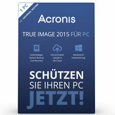 Acronis True Image 2015 1 PC Backup & Recovery / Vollversion / Deutsch / KEY