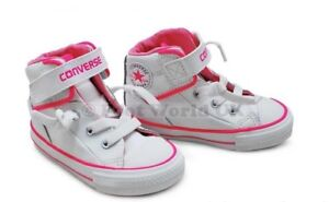 Infants Converse CT PC Loop Lace - 741702C - White Pink Trainers