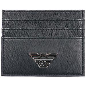 Emporio Armani credit card holder men Y4R173YLA0E81072 Blue Black wallet