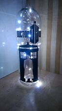 dr who doctor who inspired tardis bottle lamp light up bottle birthday gift.