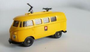 Wiking: VW T1 Funkmesswagen PTT
