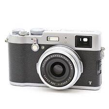 USED FUJIFILM DigitalCamera X100T Silver FX-X100T S F/S from JAPAN w/Tracking