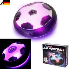 Air Football Hover Ball Luft Fußball LED Licht Indoor Soccer Luftkissen Scheibe