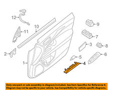 NISSAN OEM Front Door-Courtesy Lamp 264203JA0B