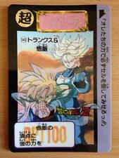 Carte Dragon Ball Z DBZ Carddass Hondan Part 13 #543 (1) Rare 1992 MADE IN JAPAN