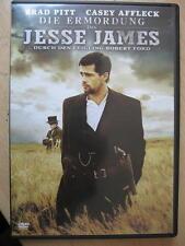 DIE ERMORDUNG DES JESSE JAMES DURCH DEN FEIGLING ROBERT FORD - DVD - BRAD PITT