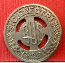 1952 S.C. Electric & Gas Co.  Transportation Token  A-667