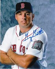 GARY GAETTI BOSTON RED SOX ACTION SIGNED 8x10