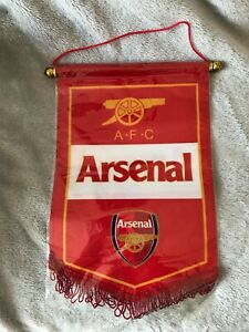 Arsenal Flag Pennant - New In Original Packaging