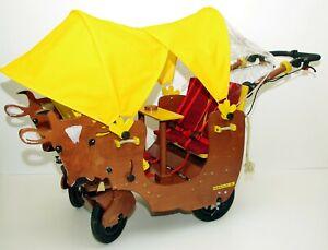 Motor-HAWAZUZIE-Krippenwagen-Viersitzer-Komfort II Kuh Alma