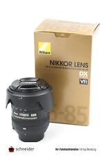 Nikon Nikkor AF-S 16-85mm f/3,5-5,6G ED DX + OIVP - SN 22330348