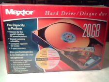 NEW SEALED Maxtor 20GB IDE UltraATA100 Hard Disk Drive ST0452000H 7200RPM