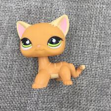 Littlest Pet Shop LPS #525 Animals Toys Orange Striped Cat Kitty Kids Girl Gift