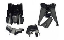 Innenraum Verkleidung Trittbrett 5 Teilig in Schwarz für Yamaha Aerox MBK Nitro