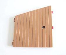 PLAYMOBIL (X205) FORET - Mur Marron Appentis Maison Forestière 4207