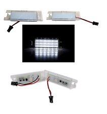 2x Kennzeichenleuchten LED OPEL VECTRA C Stufenheck 02- 3528SMD 18 LED