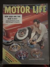 Motor Life Magazine January 1958 Customizing Wheels With Color Chroming VV R FF
