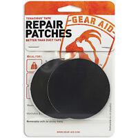 McNet Gear Aid Tenacious Tape Repair Patches Black Round Gear Repair 10710