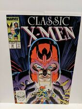 Classic X-Men #18 February 1988 Marvel Comics