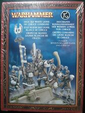 Warhammer Age Sigmar High Elf Elves White Lions of Chrace Command Metal New NIB