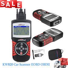 NEW KW820 OBDII OBD2 EOBD Auto Scanner Car Engine Fault Code Reader Diagnostic V