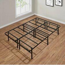 Full Size Platform Bed Frame 14 Inch Mattress Steel Foundation Metal Heavy Duty