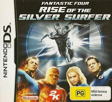 NINTENDO DS FANTASTIC FOUR RISE OF THE SILVER SURFER GAME COMPLETE