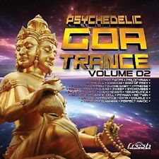 PSYCHEDELIC GOA TRANCE 2 (Phoniq Request, Sychovibes, Hypnoise, BPM)  2 CD NEW+