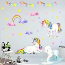 Wall Vinyl Sticker Decals Mural Room Design Art Sun Moon Unicorn Yin Yan bo1092