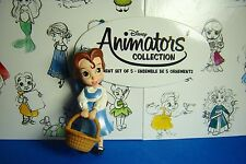 Belle Animators Collection Disney Sketchbook Ornament NEW Resin NOT PVC